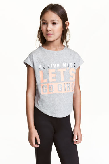 Top training - Gris chiné - ENFANT | H&M FR 1