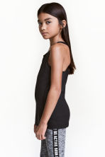 Sports top - Black - Kids | H&M CN 1