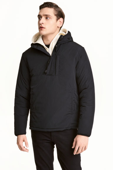 Padded jacket Model