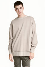 Sweatshirt - Light mole - Men | H&M 1