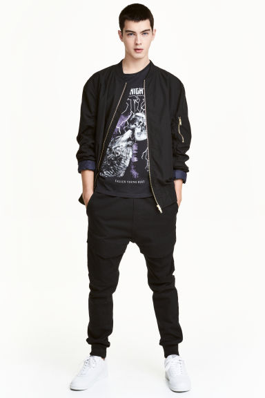 Cargo joggers - Black - Men | H&M CN 1