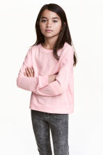 運動衫 - Light pink -  | H&M 1
