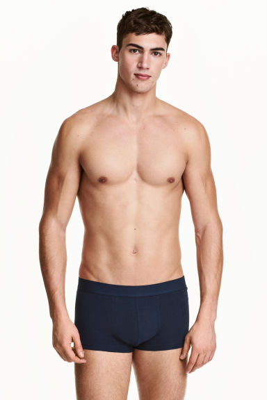 3-pack trunks - Dark blue - Men | H&M 1