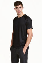 T-shirt da running - Nero/fantasia - UOMO | H&M IT 1