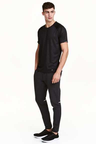 Running trousers - Black -  | H&M CN 1