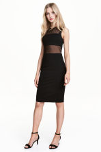 Bodycon dress - Black - Ladies | H&M 1