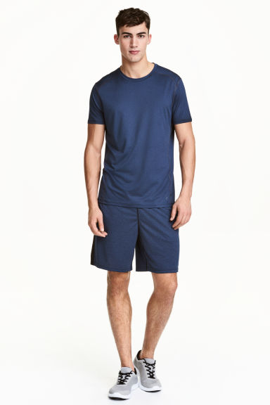 Short training - Bleu chiné - HOMME | H&M FR
