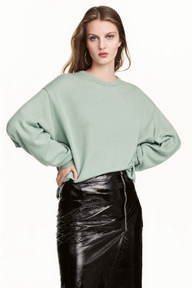 Cashmere jumper - Mint green - Ladies | H&M 1