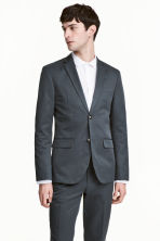 Jacket Slim fit - Grey green - Men | H&M CN 1