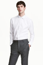 Overhemd van premium cotton - Wit - HEREN | H&M NL 2