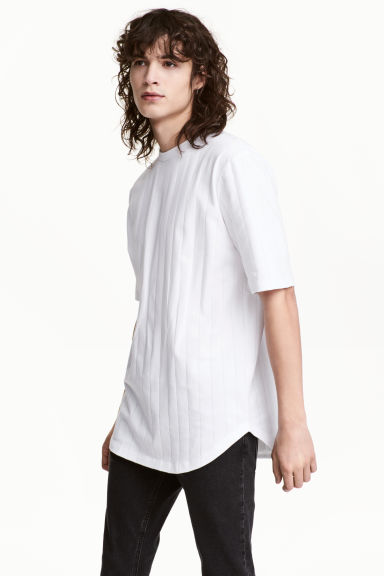 Striped T-shirt - White - Men | H&M CN 1