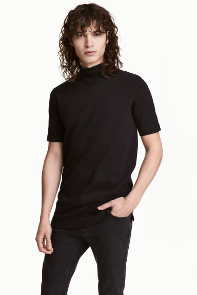 Turtleneck T-shirt Model