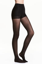 30 denier control top tights - Black - Ladies | H&M 1