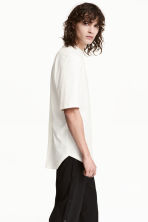 Cotton T-shirt - White - Men | H&M 1