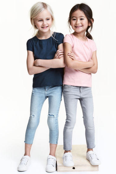 2-pack jersey tops - Dark blue - Kids | H&M CN 1