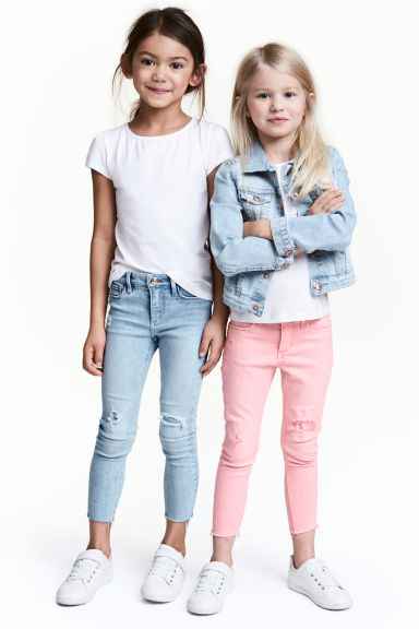 2-pack jersey tops - White - Kids | H&M CN 1