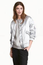 Bomber jacket - Silver - Ladies | H&M 1