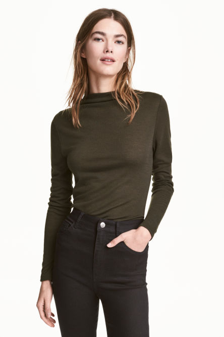 Top met turtleneck