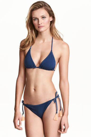 Slip bikini - Blu denim scuro - DONNA | H&M IT 1