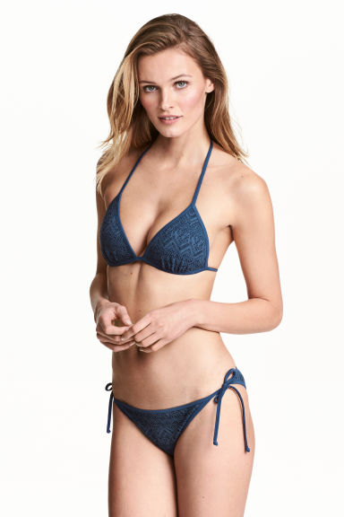 Bikini bottoms - Dusky blue - Ladies | H&M CN 1