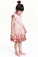Tulle skirt - Light pink/Heart - Kids | H&M CN 1