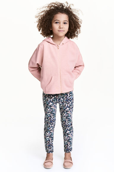Treggings - Blu scuro/fiori - BAMBINO | H&M IT 1