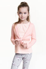 Dance cardigan - Light pink - Kids | H&M 1