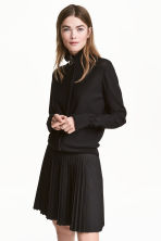 Zipped cardigan - Black -  | H&M 1