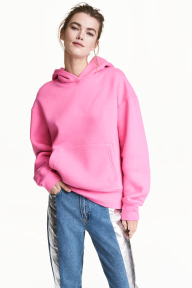 Hooded top - Pink - Ladies | H&M 1