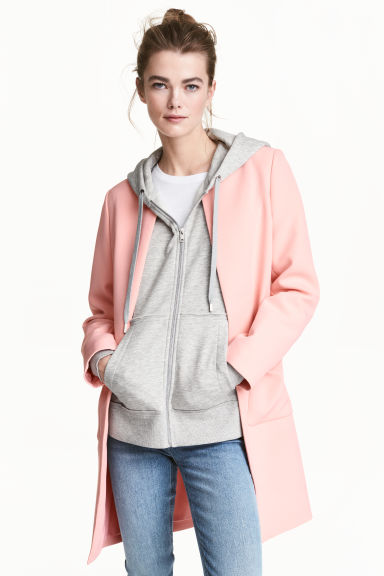Short coat - Light pink - Ladies | H&M 1