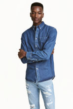 Denim shirt - Denim blue - Men | H&M 1
