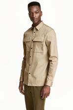 Camicia casual Regular fit - Beige - UOMO | H&M IT 1