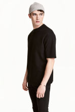 Wide T-shirt - Black - Men | H&M 1