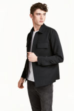 Shirt jacket - Black - Men | H&M 1
