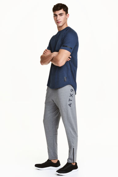 Sports trousers - Grey marl - Men | H&M 1