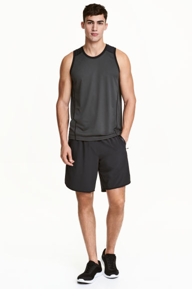 運動短褲 - Black - Men | H&M 1