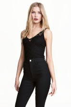 Lace body - Black - Ladies | H&M CN 1