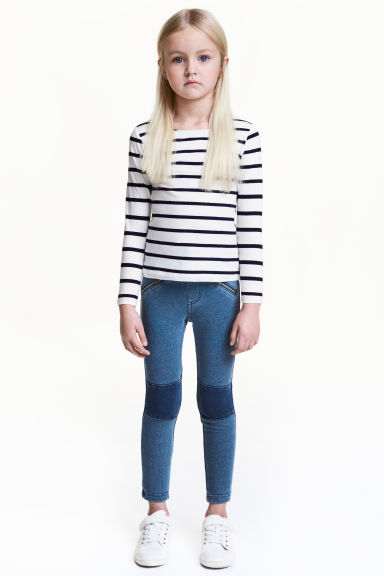 Tregging - Bleu washed out - ENFANT | H&M FR 1