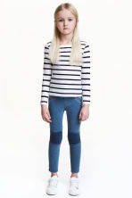 Treggings - Blue washed out - Kids | H&M CN 1