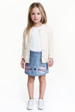 Cotton skirt - Blue/Chambray - Kids | H&M 1
