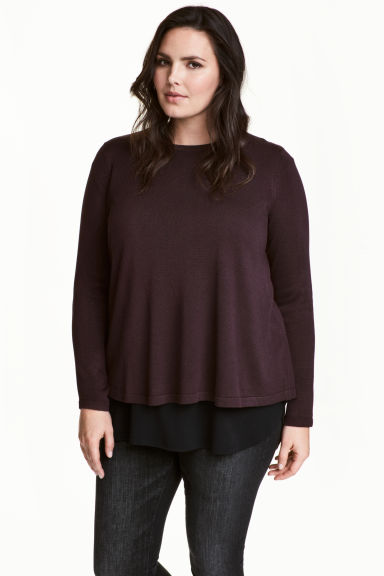 H&M+ Fine-knit jumper Model