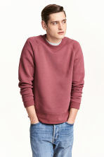 Scuba sweatshirt - Pale red - Men | H&M CN 1