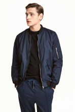 Bomber jacket - Dark blue - Men | H&M CN 1
