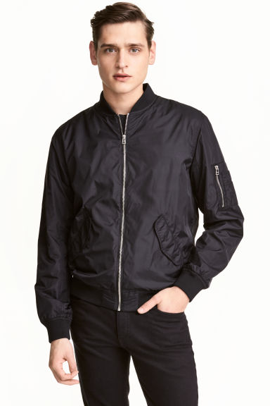 Bomber - Nero -  | H&M IT 1