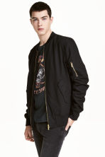 Bomber jacket - Black - Men | H&M CN 1