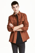 Cargo shirt - Rust - Men | H&M 1