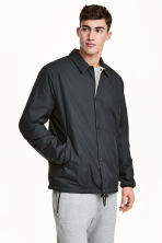 Reversible coach jacket - Beige/Black - Men | H&M 1