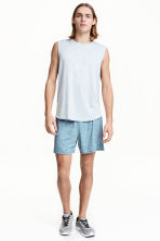 Sports shorts - Turquoise marl -  | H&M CN 1