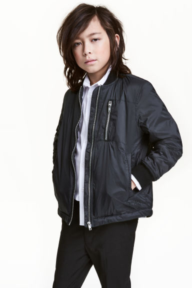 Bomber jacket - Black - Kids | H&M