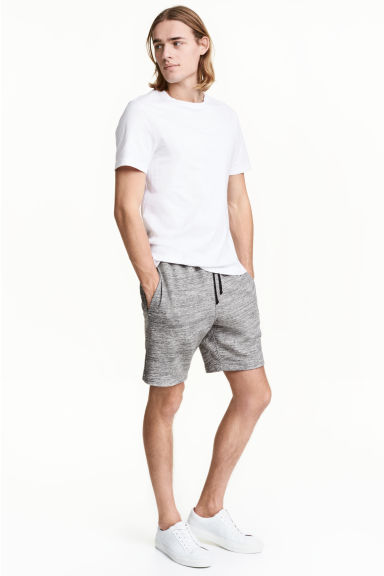 Sweatshirt shorts - Grey marl - Men | H&M 1